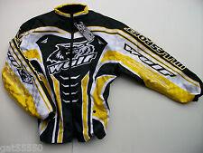 New Wulfsport Xxl Enduro Motocross Trials Jacket Yellow Suzuki Drz Rm Rmz Dr Ltz