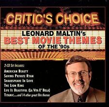 Critic's Choice: Leonard Maltin's Best Movie Themes of the '90s [2 CD] by