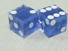 Casino Quality Dice Light Blue in color