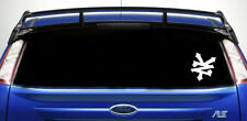 2X ZOO YORK skate car stickers/decals  window