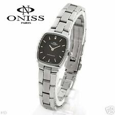 ONISS WATCH, SOLID STAINLESS STEEL,ELEGANT,NICE SRP$325