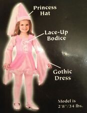 Halloween Costume Toddler 3T - 4T Sweetie Pink Princess dress up girls