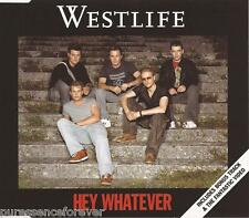 WESTLIFE - Hey Whatever (UK 3 Track Enh CD Single Pt 1)
