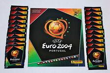 Panini EM EC Euro 2004 04 – 20 Tüten packets bustine sobres + ALBUM MINT!