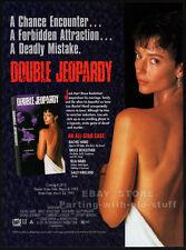 DOUBLE JEOPARDY__Orig. 1993 Trade AD promo__RACHEL / SELA WARD__Bruce Boxleitner