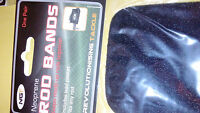 Rod  bands qdos and ngt  pk of 2 for carp fishing rods Neoprene SIZE VARIES