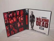 Custom Made The Walking Dead Season 7 Trading Card Album Binder