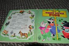 Vintage  Whitman Tell A Tale Book  The Three Little Pigs  1956  # 2547