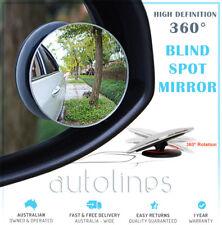 2x Blind Spot Mirror Frameless HD Glass Wide Angle 360° Convex Mirror Rear View