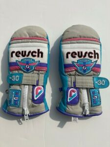 Reusch Women's World Cup -30 Mitten Ski Gloves Size 7 1/2