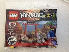 New LEGO Ninjago lot 2 30424 30425 WU-CRU Training Dojo Nya Zane Sealed Polybags