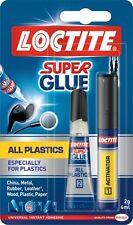 LOCTITE Super Glue tutte le materie plastiche soprattutto per materie plastiche 2g/4ml 2 parte TUBO