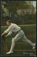 Cricket. England & Notts. Mr A.O.Jones # 773 in National Series.