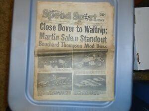National Speed Sport News September 17 1980 Darrell Waltrip Mark Martin