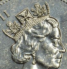 CANADA 50 cents 1996 with DOUBLINGS on crown and neck (obverse) -Circulated
