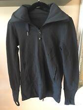 Lululemon Women's Hoodie Jacket Black Size 4!! Sold out!!