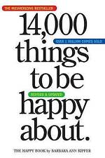 Very Good 0761147217 Paperback 14,000 Things to Be Happy About Kipfer, Barbara A