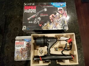 Ps3 Rapala Fishing Pole Rod Controller Game Wireless Dongle
