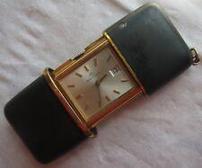 Movado Mini Ermeto Date pocket watch load manual all original running condition