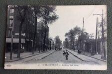 CPA. IVRY sur SEINE. 94 - Boulevard Sadi Carnot. 1915. Charcuterie.