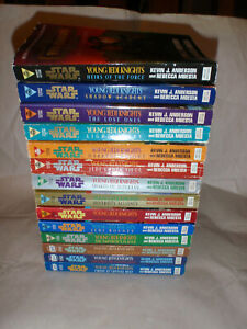 STAR WARS YOUNG JEDI KNIGHTS COMPLETE SET OF 14 BOOKS  FREE SHIPPING