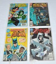 4 DC Comic Book Books Batman Robin Wonder Woman Black Canary Batgirl Lot I