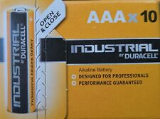 Industrial by Duracell Alkaline Sparpack 10er Pack AAA Micro LR3 4003 1,5 V NEU