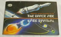 1974 BROOKE AND BOND SPACE AGE TRADING CARDS COMPLETE SET 48/48 IN ALBUM CANADA