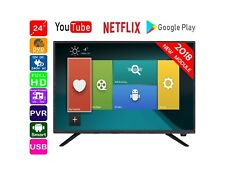 Englaon 24'' Smart FHD LED TV with PVR, DVD, HD Tuner, 12V for Caravan/Boat