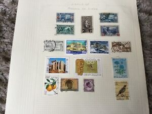 Libya stamp collection