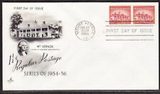"""USA """"Artcraft"""" 1956 -  1½c Mount Vernon First Day Cover Unaddressed"""