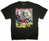 Iron Maiden The Number Of The Beast Black T Shirt New Official Merch  Album Art