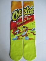 cheetos flaming hot socks BUY 3 pair GET 4TH PAIR FREE footwear like odd sox