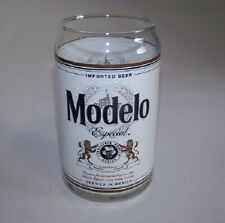 Modelo Beer Can Glass 14 fl oz.   Set of 6