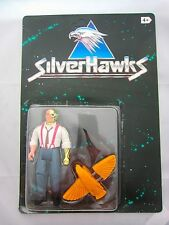 SILVERHAWKS Stargazer action figure complete MOC Vintage Kenner Jouet 1986 années 1980
