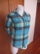 HURLEY Multi-Color Plaid Long Sleeve Button Down Shirt Sz L