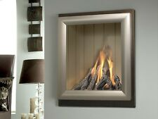 Verine Meridian He Wall or Hearth Mounted Gas Fire (15 Year )