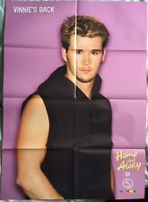 HOME AND AWAY / VINNIE & WILL Original Vintage Magazine Poster