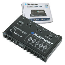Blaupunkt Ep1800 Car Audio 5 Band Equalizer With Voltage Display Sub Eefect