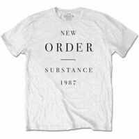 New Order 'Substance' T-Shirt *Official Merch* *Joy Division / Factory*