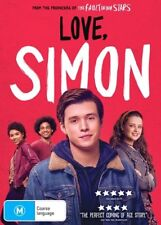 Love, Simon (DVD, 2018) : NEW