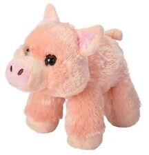 "HUG'EMS MINI PIG 7"" PLUSH STUFFED ANIMAL TOY BY WILD REPUBLIC - BNWT"