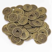 50 PCS  Feng Shui Coin Charms Crafts 23mm  Metal Five Emperors Luck Metal