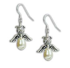 Pit Bull Angel Pearl Earrings