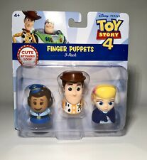 Disney Pixar Toy Story 4 Finger Puppets 3 Pack Giggle McDimples Woody Bo Beep