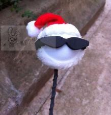 Cute Santa Claus Antenna Ball Car Aerial Ball Antenna Topper Decor Pen Ball Xmas