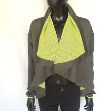 NWT Fabletics Womens Bolero Shrug Top Size XS Burnside Shrug 4 Shirt Green Top
