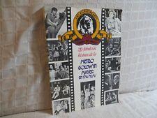 la fabuleuse histoire de la Metro Goldwyn Mayer en 1714 films