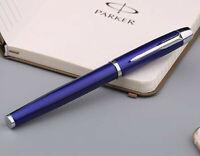 Perfect Parker IM Series Blue Color Silver Clip 0.5mm Fine Nib Rollerball Pen