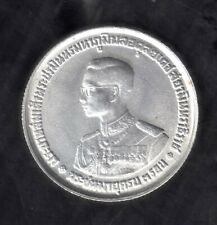 1963 THAILAND SIAM 36th Birthday King RAMA IX 20 BAHT 750 SILVER COIN  KM#86 UNC